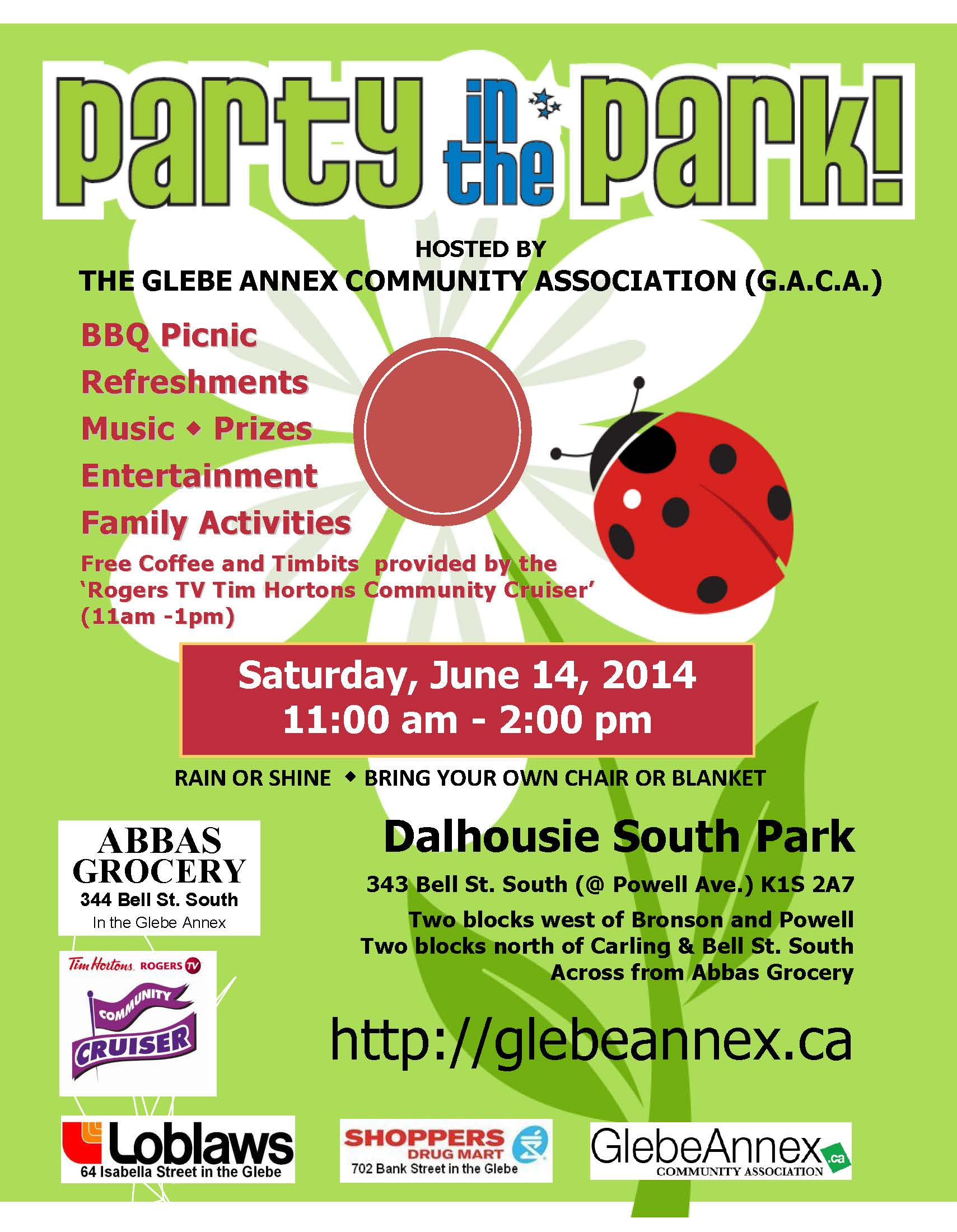 Party in the Park-poster